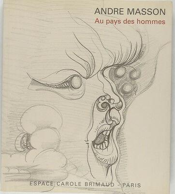 AndréMasson. Au pays des hommes. 2001.