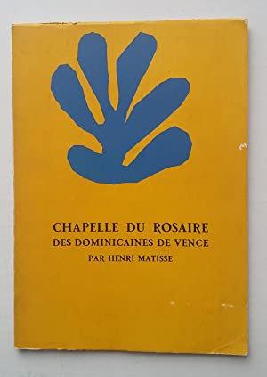 Matisse, La Chapelle du rosaire, 1992