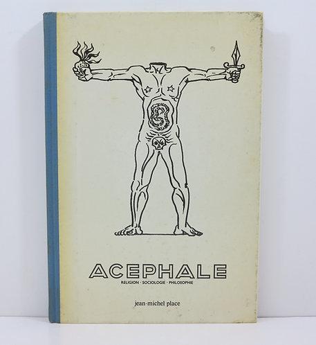 Revue Acéphale 1936-1939. Jean Michel Place. 1980.