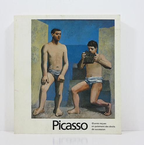 Picasso. Oeuvres reçues en paiement des droits de succession. 1979.