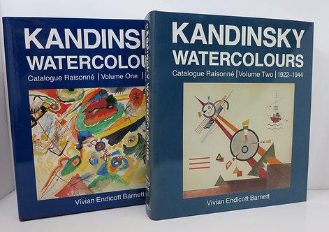 Kandinsky. Watercolours: Catalogue Raisonné Volume I and II. Sotheby's.