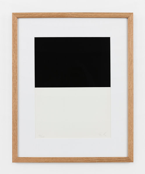 Ellsworth Kelly. Screenprint. 1973. Signed and numbered.