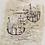 Thumbnail: Zao Wou-Ki. Les petits bateaux. 1953. Signed and numbered.