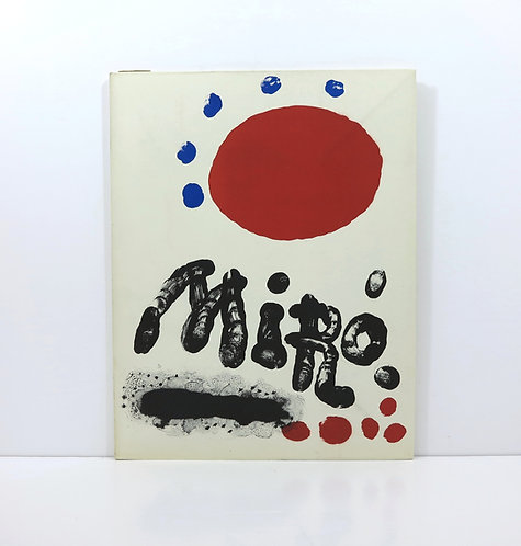 Miro, recent paintings. Pierre Matisse Gallery. 1953.