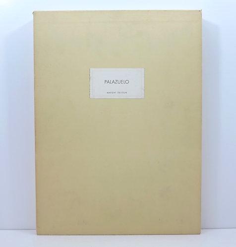 """Pablo Palazuelo.""""Derrière le miroir"""" number 184. Signed. Deluxe."""