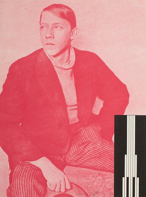 Dan Flavin (1933-1996). Screenprint in colours. Signed. 1973