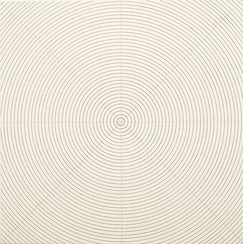 Sol Lewitt (1928–2007)  Circles. 1973. Screenprint signed.