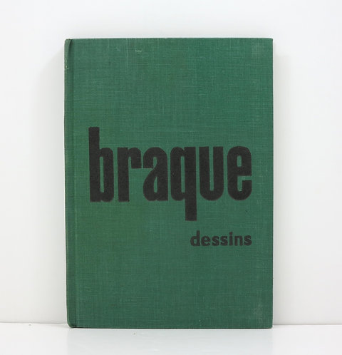Braque, dessins. By Maurice Gieure. 1955.