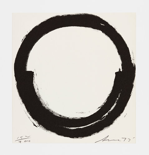 Richard Serra. Lithograph. 1973. Signed and numbered.