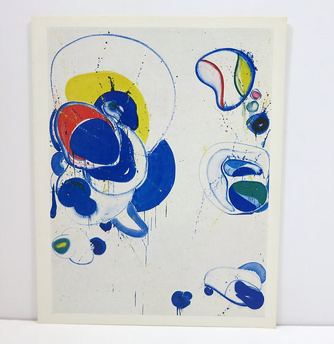 Sam Francis. Coloured drawings from 1962-1966. Pierre Matisse. 1967.
