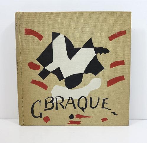 Catalogue de l'oeuvre de Georges Braque. Peintures 1948 - 1957. Maeght 1959.