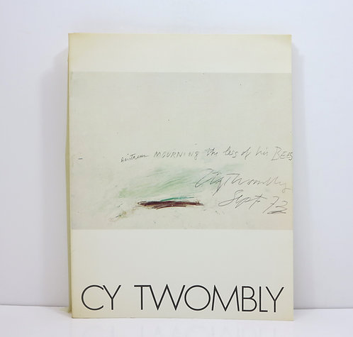Cy Twombly. Dessins 1954-1976. Musée d'art moderne de la ville de Paris. 1976