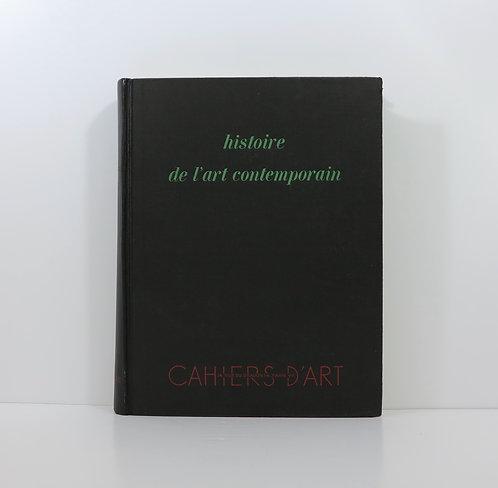 C.Zervos. Histoire de l'art contemporain. Cahiers d'Art. 1938.