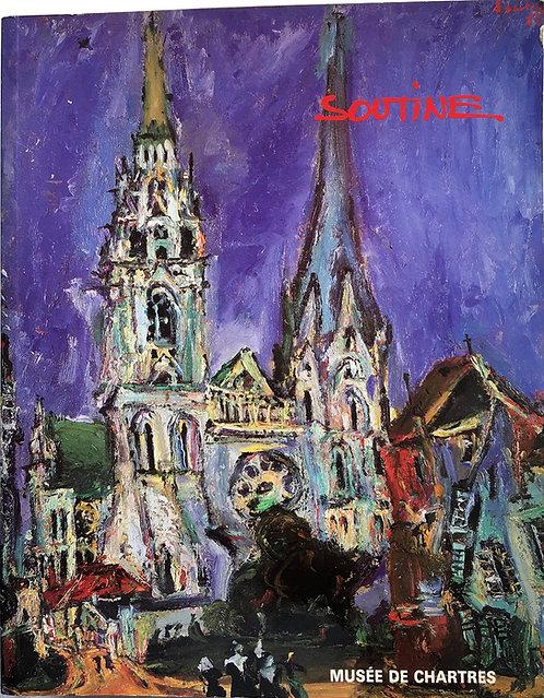 Soutine, Musée de Chartres, 1989, catalogue d'exposition