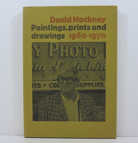 David Hockney. Paintings, prints and drawings 1960-1970. Boston book and art.