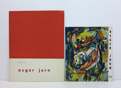 Asger Jorn. 2 catalogs. 1961-1965.