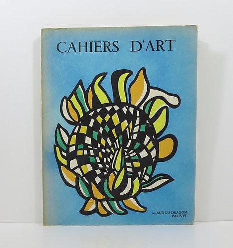 Cahiers d'Art. Year 1954. Volume II.