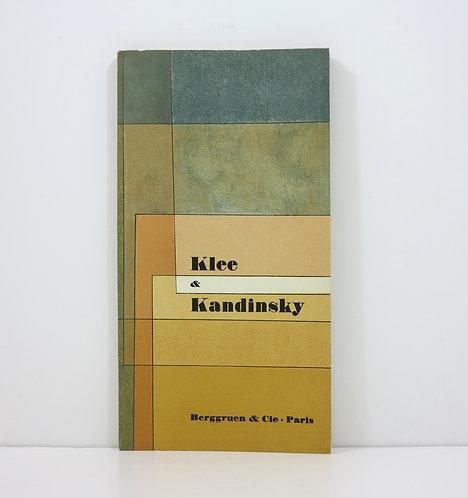 Klee & Kandinsky. A confrontation. Berggruen. 1959.