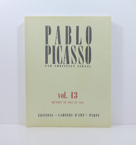 Picasso.By ChristianZervos. Vol.13. Cahiers d'art. 1984.