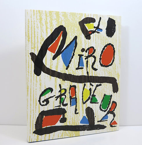 Miró Graveur I- 1928-1960. Lelong publisher. With three woodcuts.