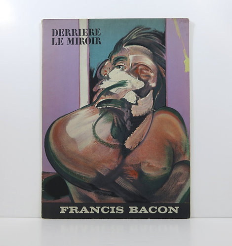 Francis Bacon. DLM 162 Michel Leiris. 1966.