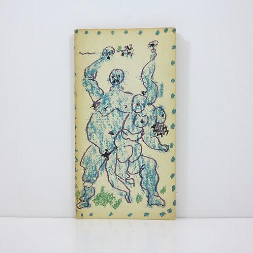 Pablo Picasso.Dessins d'un demi-siècle. Berrgruen.1956.