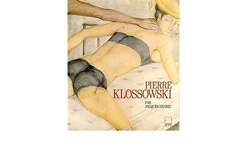 Pierre Klossowski par Jacques Henric, 1989