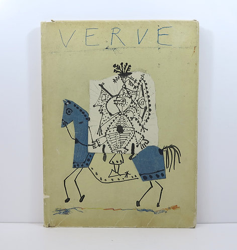 Picasso à Vallauris 1949-1951. Verve n°25 and 26. 1951.