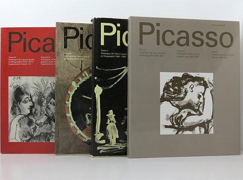 Picasso. G.Bloch. The Graphic work. Catalogue raisonné. 1968-1972.