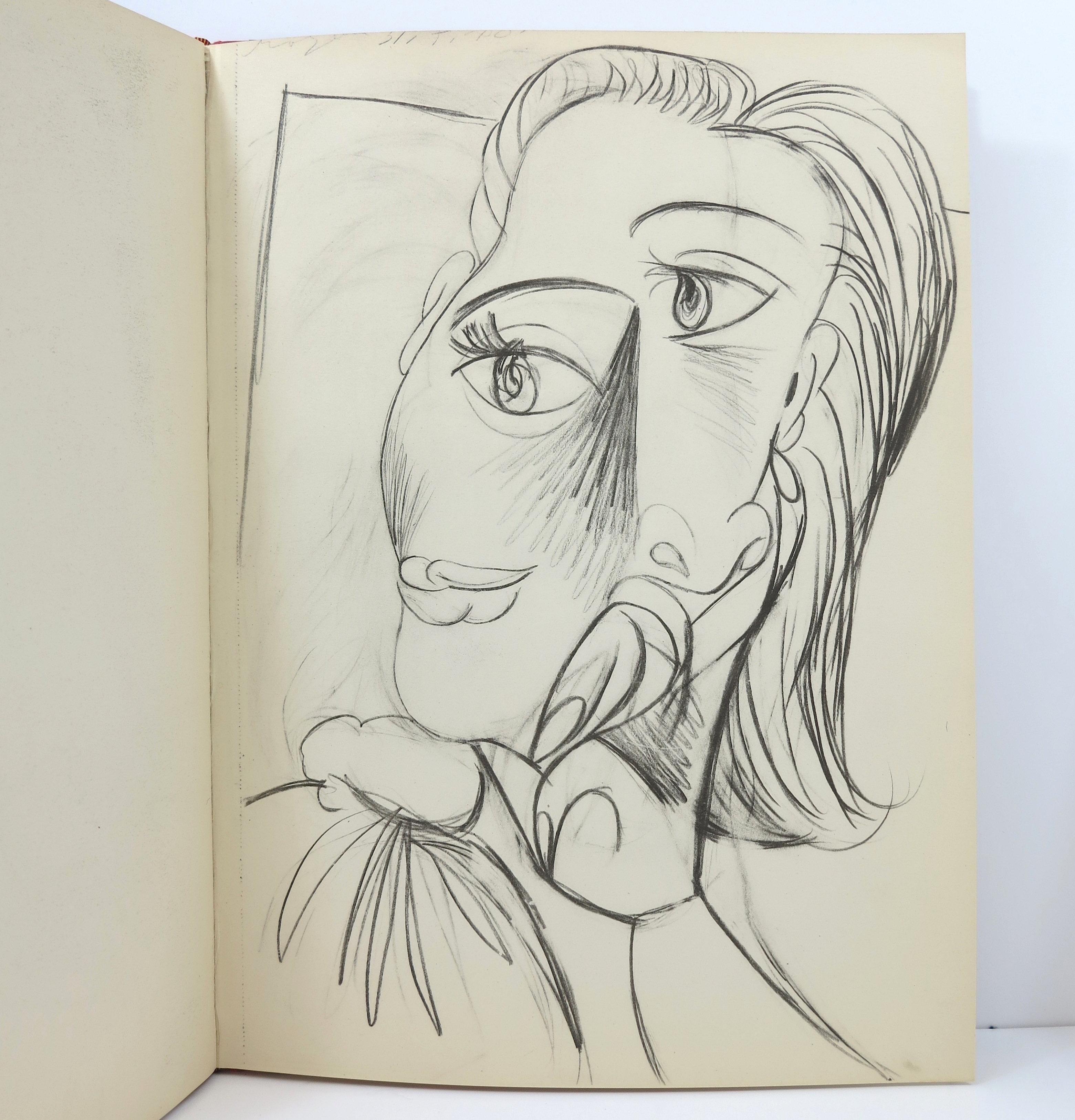 Pablo Picasso. Carnet de dessins. 1948. Cahiers d'Art. | cahiersdart