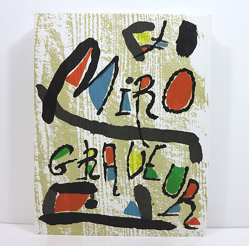 Miro Graveur II : catalogue raisonné des gravures (1961-1973)