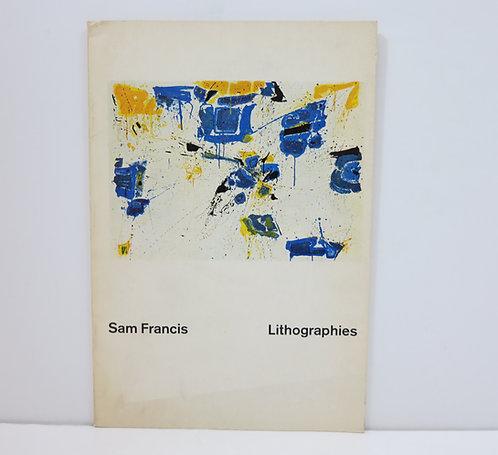 Sam Francis. Lithographies. Klipstein&Kornfeld. 1961.