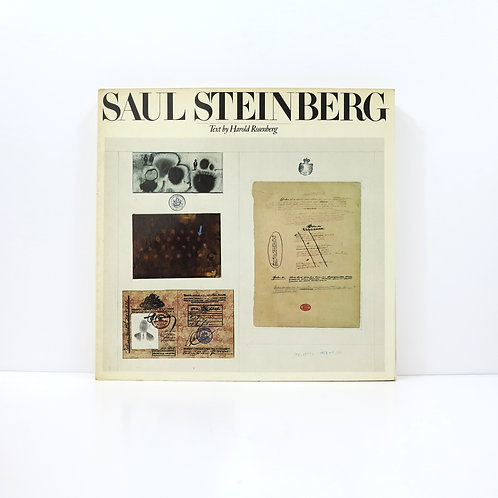 Saul Steinberg. Text by Harold Rosenberg. Knopf publisher. 1978.