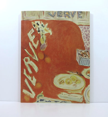 Verve n°3. 1938. Original cover by Bonnard. In English