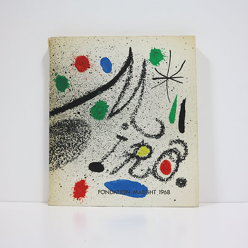 Miro : Fondation Maeght. Saint Paul. 1968.