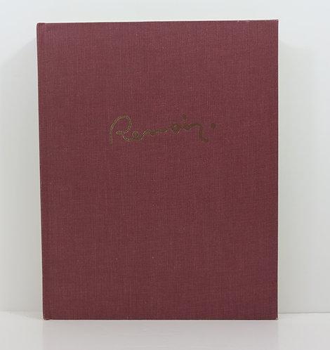 Renoir. Catalogue raisonné de l'œuvre peint. By François Daulte. 1971.