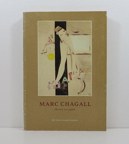 Marc Chagall. Oeuvres sur papier. Centre Pompidou. 1984.