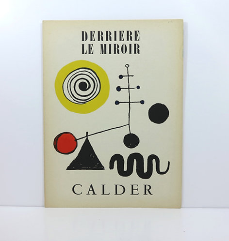 Calder. Derrière le miroir nº31. Maeght. 1950.