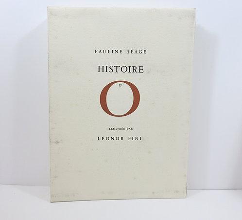 Léonor Fini - Pauline Réage. Histoire d'O. Le cercle du livre précieux. 1962.
