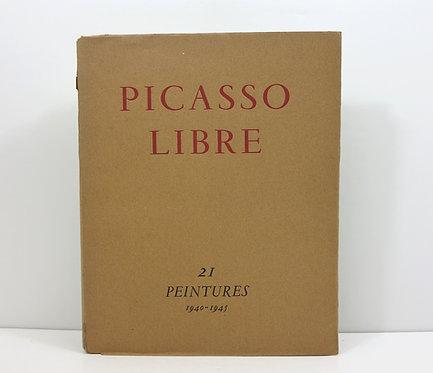 Picasso libre. Vingt et une peintures 1940-1945. Galerie Louis Carré, 1945