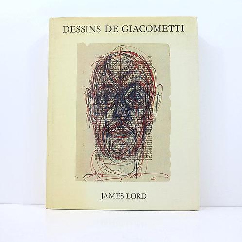Dessins d'Alberto Giacometti. By James Lord. Seghers. 1971.