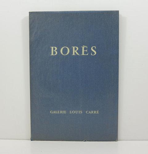 Borès. By Jacques Lassaigne. Louis Carré publisher. 1957.