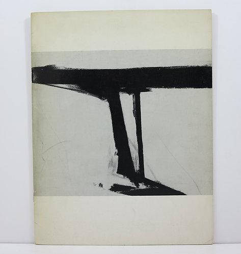 Franz Kline. Sidney Janis Gallery. 1961.