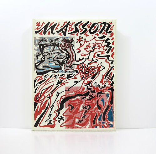 Mythologie d'André Masson. Pierre Cailler. 1971. Deluxe edition.