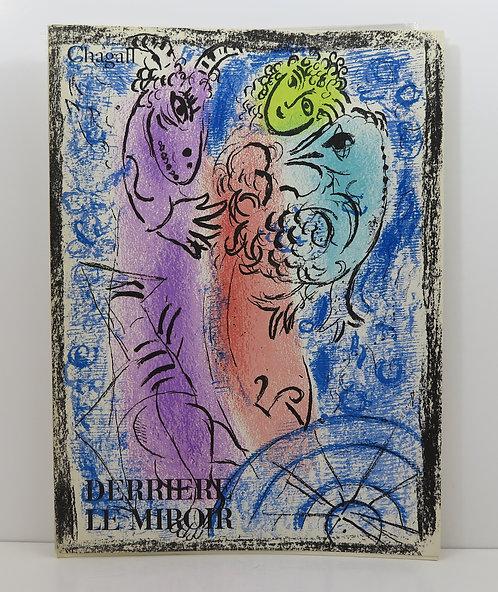 Chagall. Derrière le Miroir. n°132. Maeght. 1962