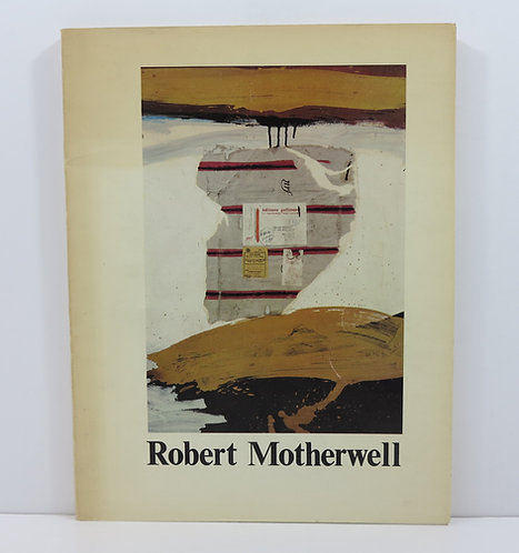 Robert Motherwell. Choix de peintures et de collages. Musée d'Art Moderne, 1977.