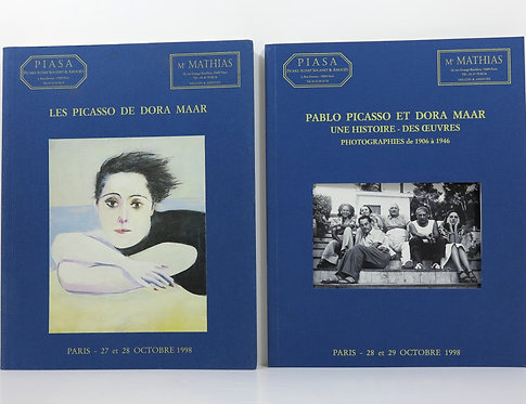 Dora Maar/Picasso. Auction catalogues. Piasa. 1998.