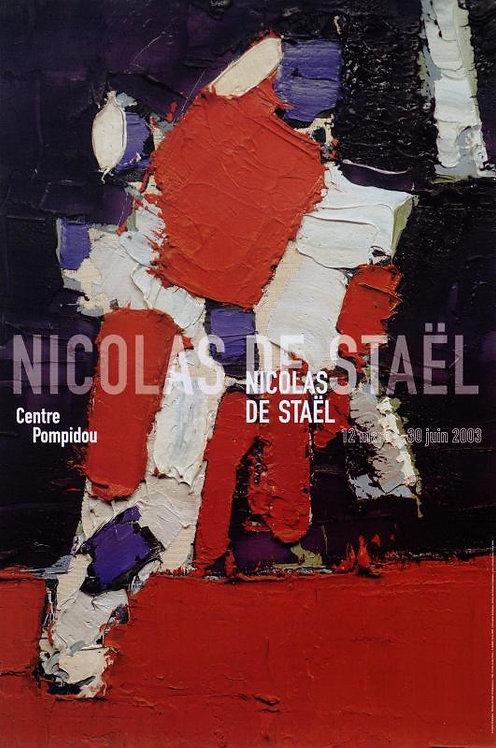 Nicolas de Staël. Centre Pompidou. 2003.
