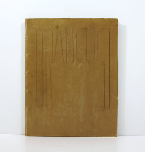 Brancusi Exhibition Catalogue from the Brummer Gallery, 1926.