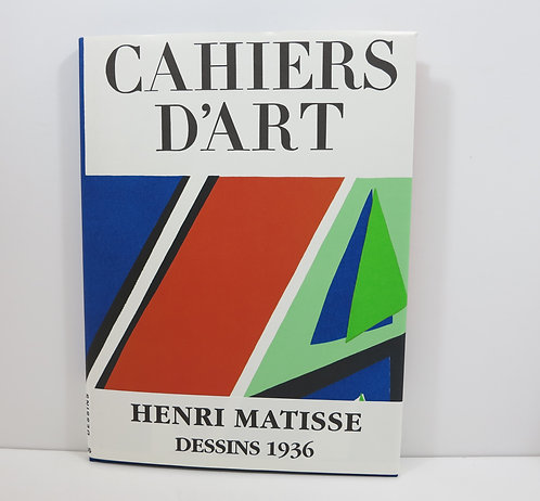Henri Matisse. Dessins 1936. Cahiers d'Art. 1992.